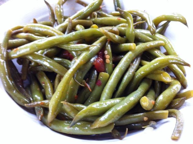 Neapolitan Green Beans