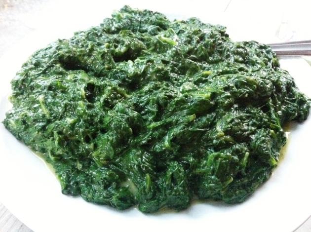 Spinach Béchamel
