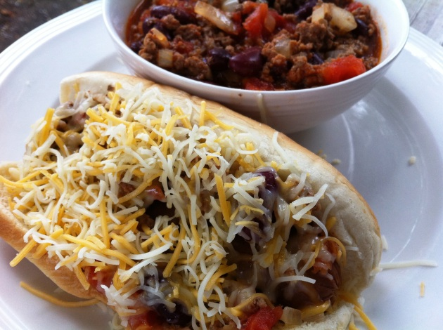 Chili Cheese Coney