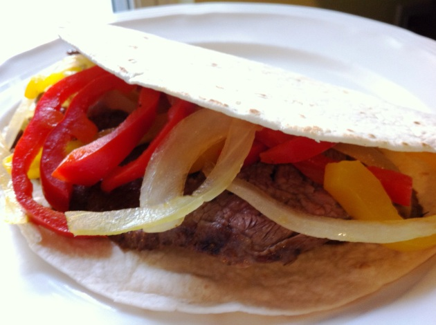 Seared Spicy Fajitas