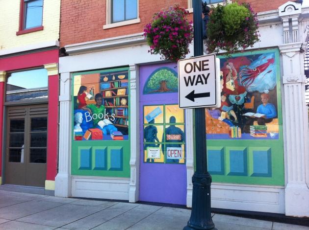 Wall art at Findlay Market