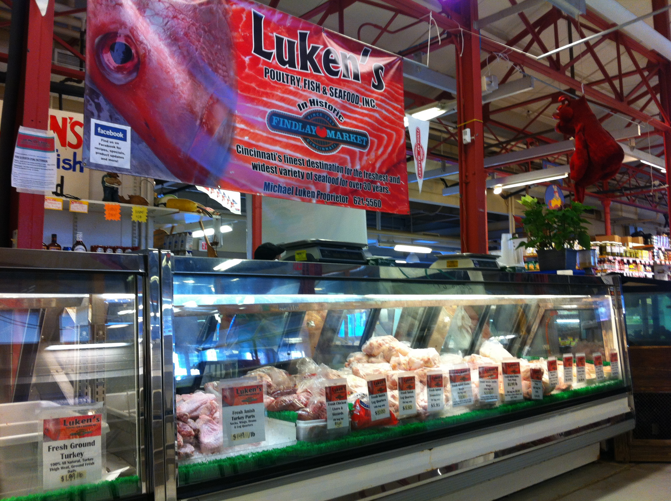 Cincinnati jathan heather for Fish market cincinnati