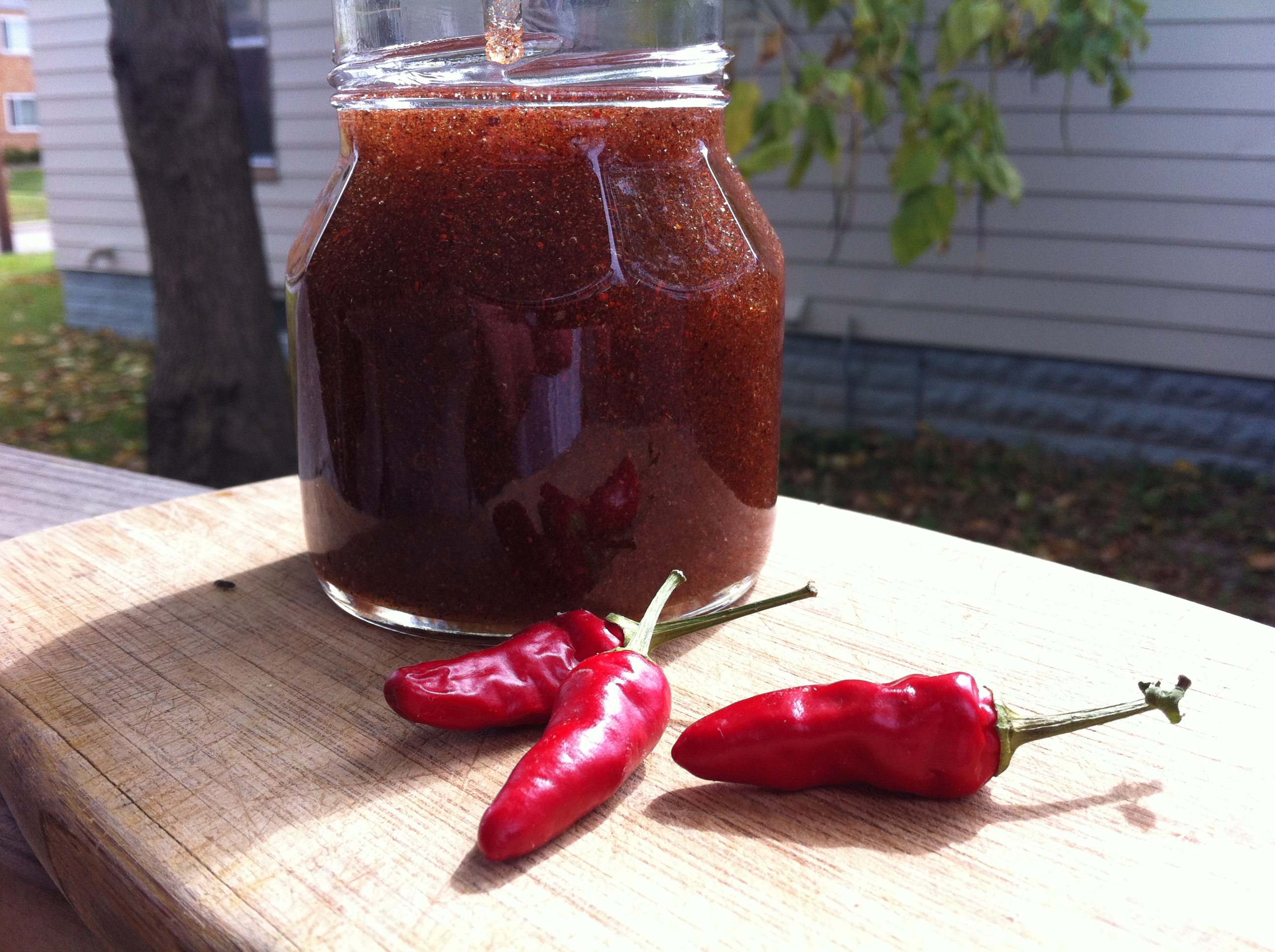 Red Chile Honey