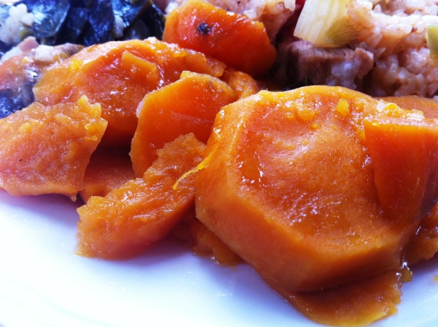 Citrus Glazed Sweet Potatoes