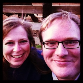 Heather and Jathan at the Fort Worth Stockyards