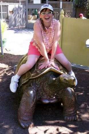 Heather at San Diego Zoo
