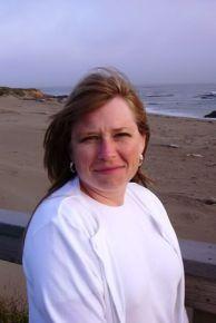 Heather in San Simeon
