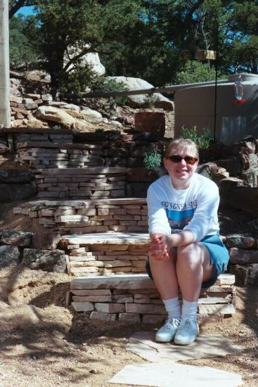 Heather in Santa Fe