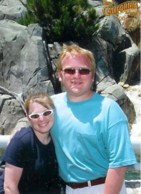 Jathan and Heather at Disney's California Adventure