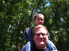Jathan & Andrew at Cincinnati Zoo