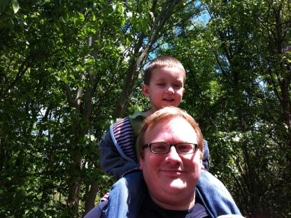 Jathan & Andrew at Cincinnati Zoo