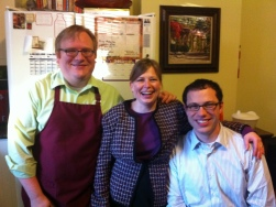 Jathan, Heather and David