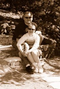 Jathan and Heather in Santa Fe