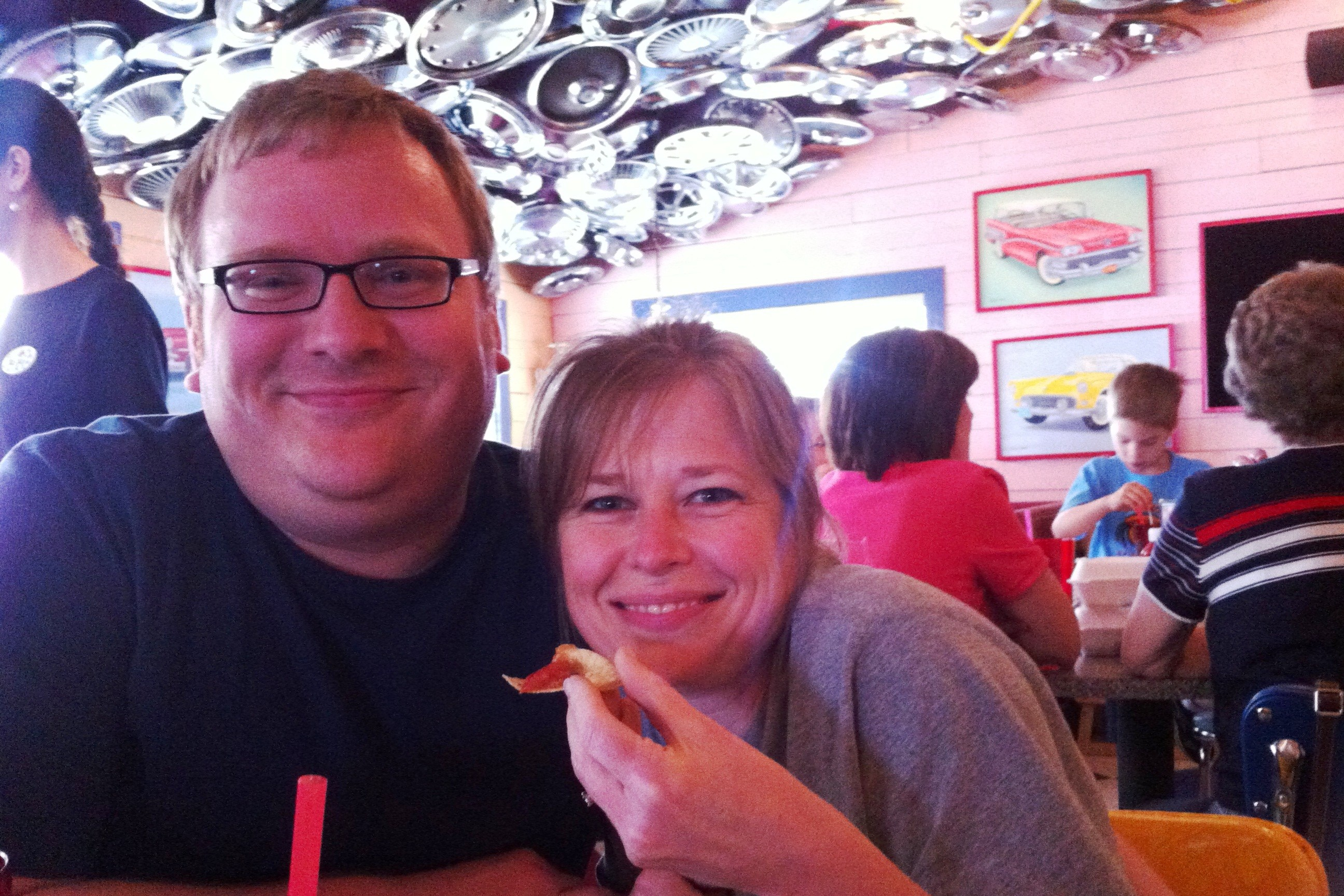 Jathan and Heather love Chuy's Mexican Restaurant
