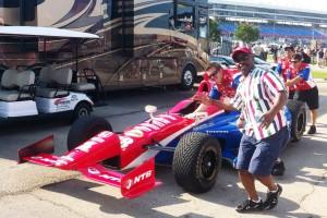 Ed Lollis at Texas Motor Speedway