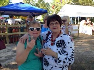 Heather and Vicki Pyle