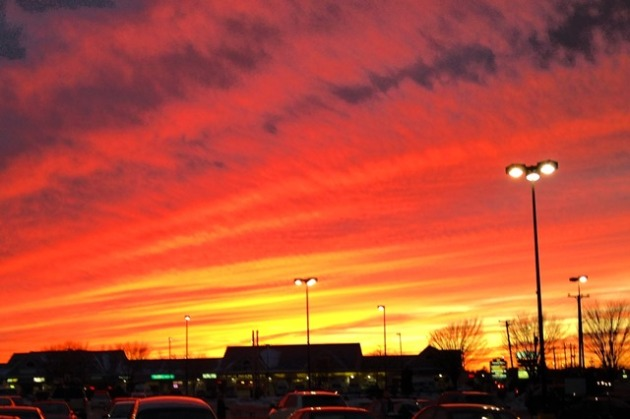 Fairhaven sunset