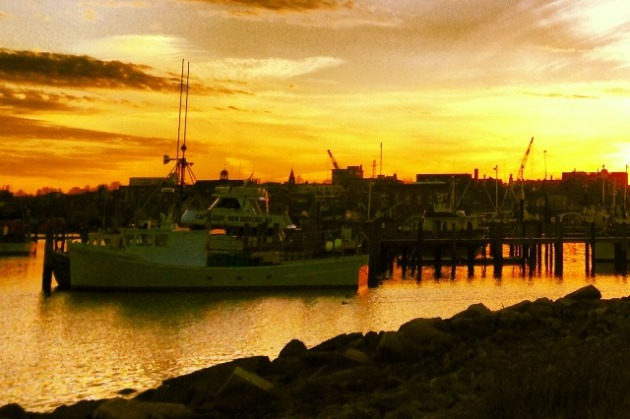 New Bedford sunset