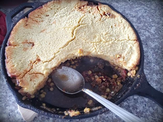 Cornbread-Chili Casserole