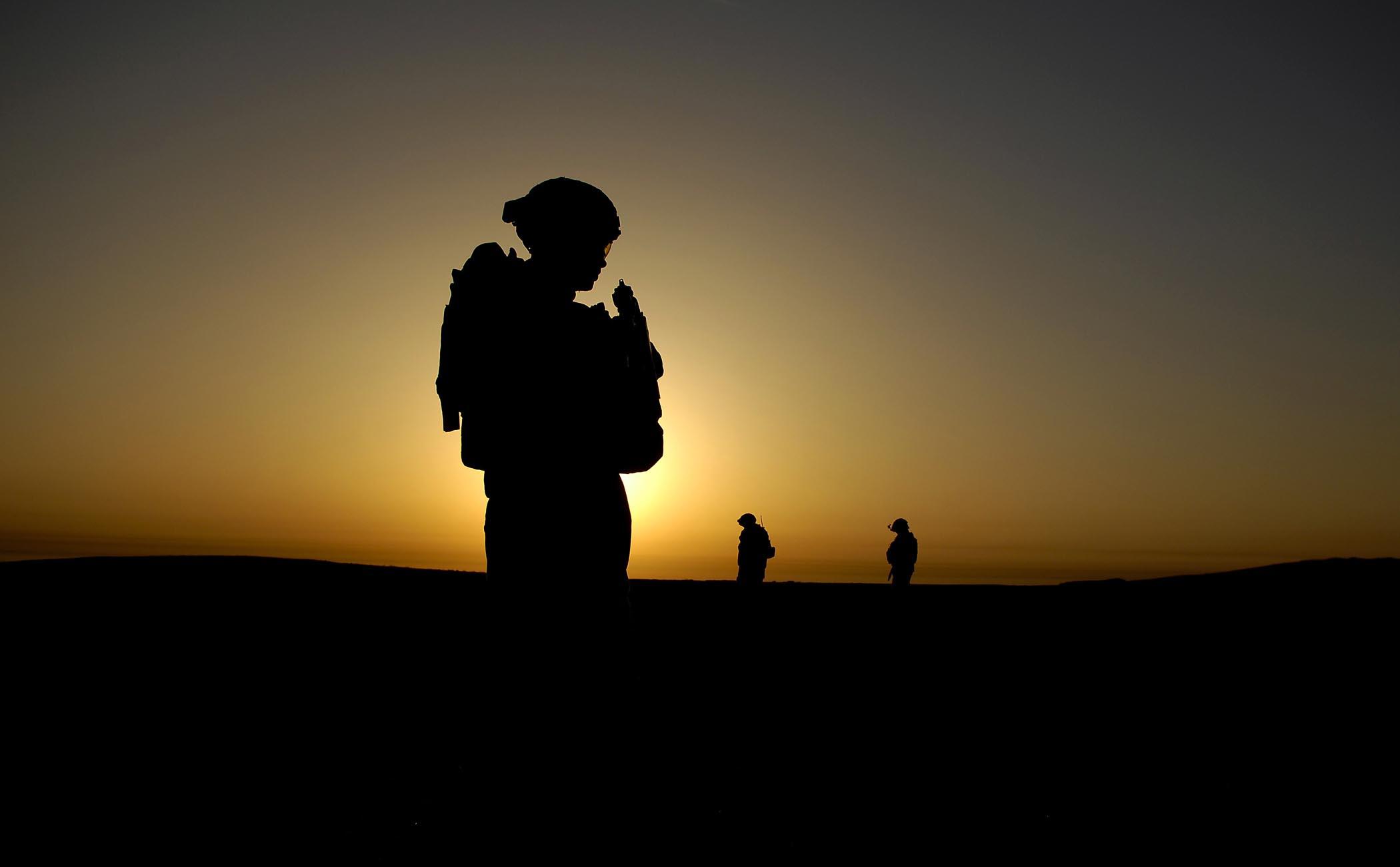 Soldier in Delta Company
