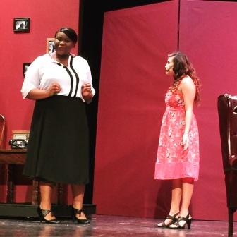 Octavia Williams and Jasmine Warren in HARVEY