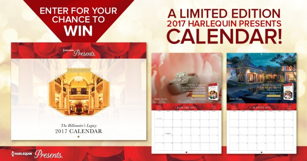 Harlequin Presents The Billionaire's Legacy Calendar Contest