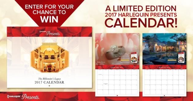 Harlequin Presents The Billionaire's Legacy Calendar Contest