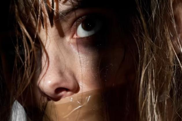 Woman captive