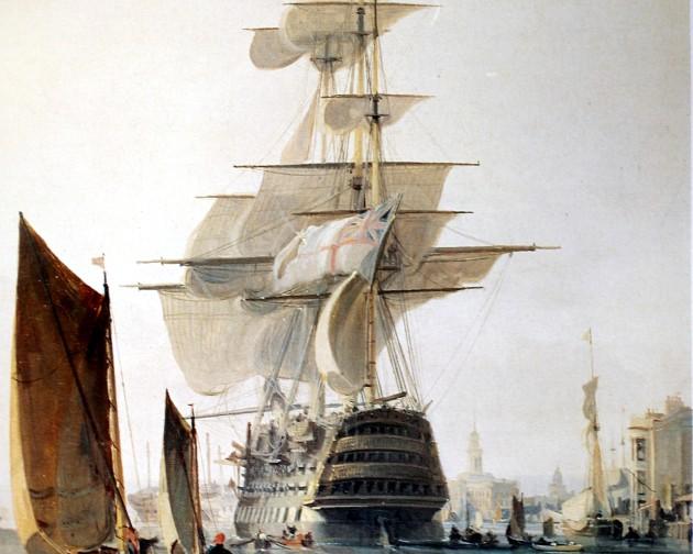 George Hyde Chambers' HMS BRITANNIA