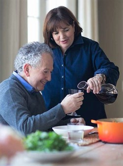 Ina Garten and her husband Jeffrey