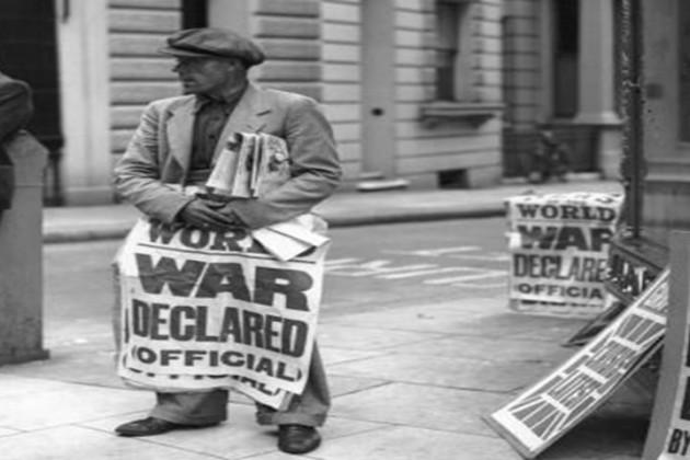 Britain declares war