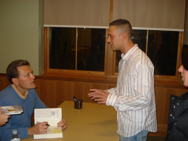 David Baldacci book signing