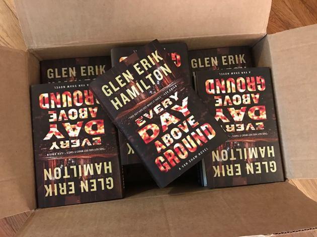 Glen Erik Hamilton's EVERY DAY ABOVE GROUND