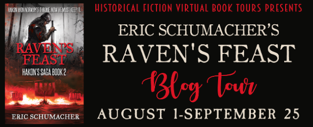 Eric Schumacher's RAVEN'S FEAST Blog Tour