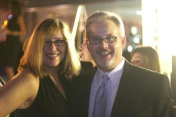 J.T. Ellison and her husband Randy at the Best of Nashville party at the Frist Center in 2008.