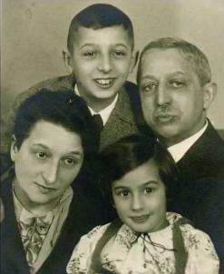 Guy Stern's family
