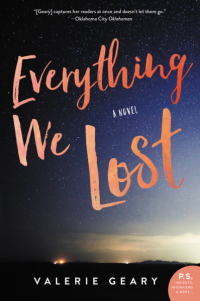 Valerie Geary's EVERYTHING WE LOST