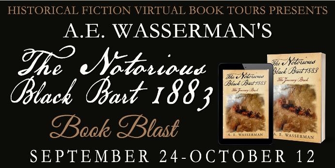 The Notorious Black Bart 1883 Book Blast