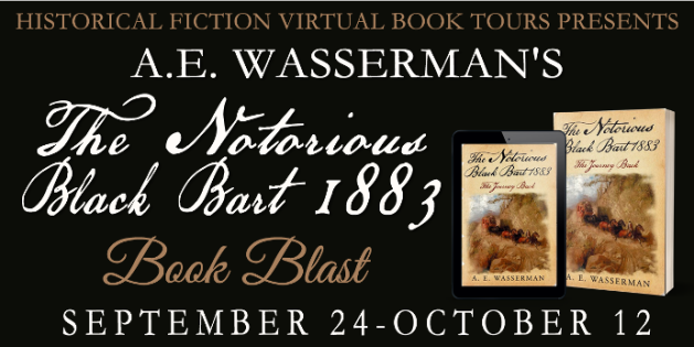 The Notorious Black Bart 1883 Book Blast