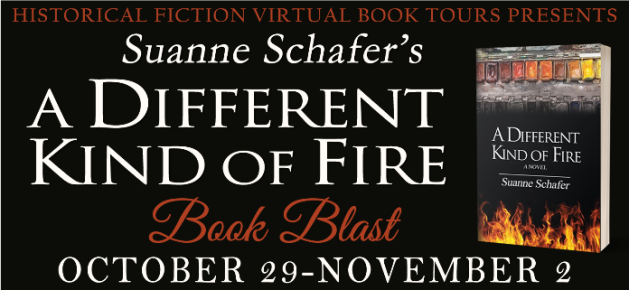 Suanne Schafer's A DIFFERENT KIND OF FIRE Book Blast