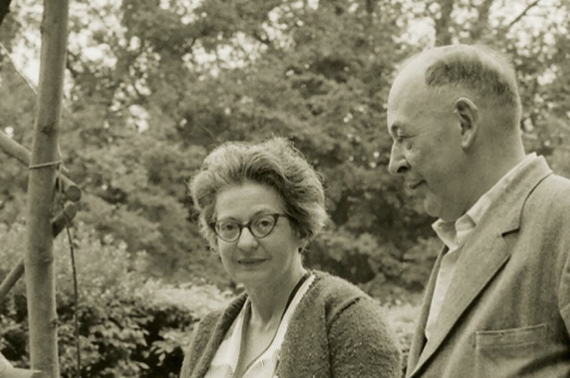 Joy Davidman and C.S. Lewis