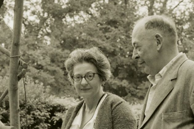 Joy Davidman and C.S. Lewis