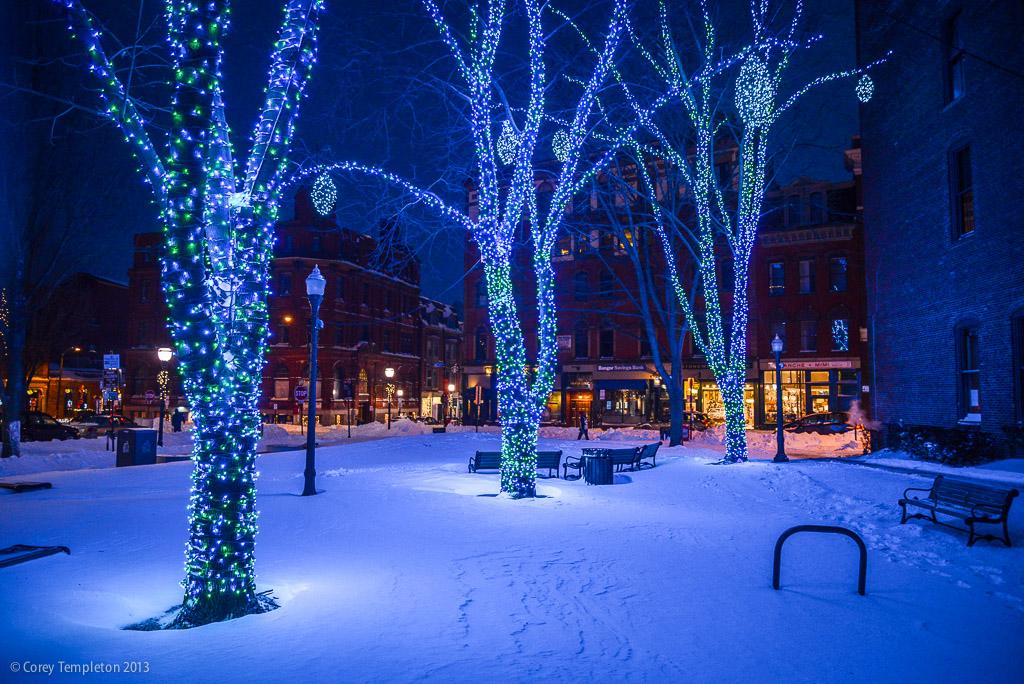 Tommy's Park lights