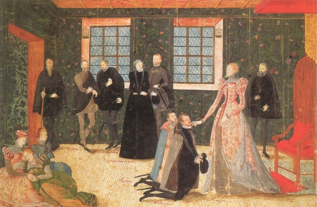 Elizabeth Receiving Dutch Ambassadors, 1560s