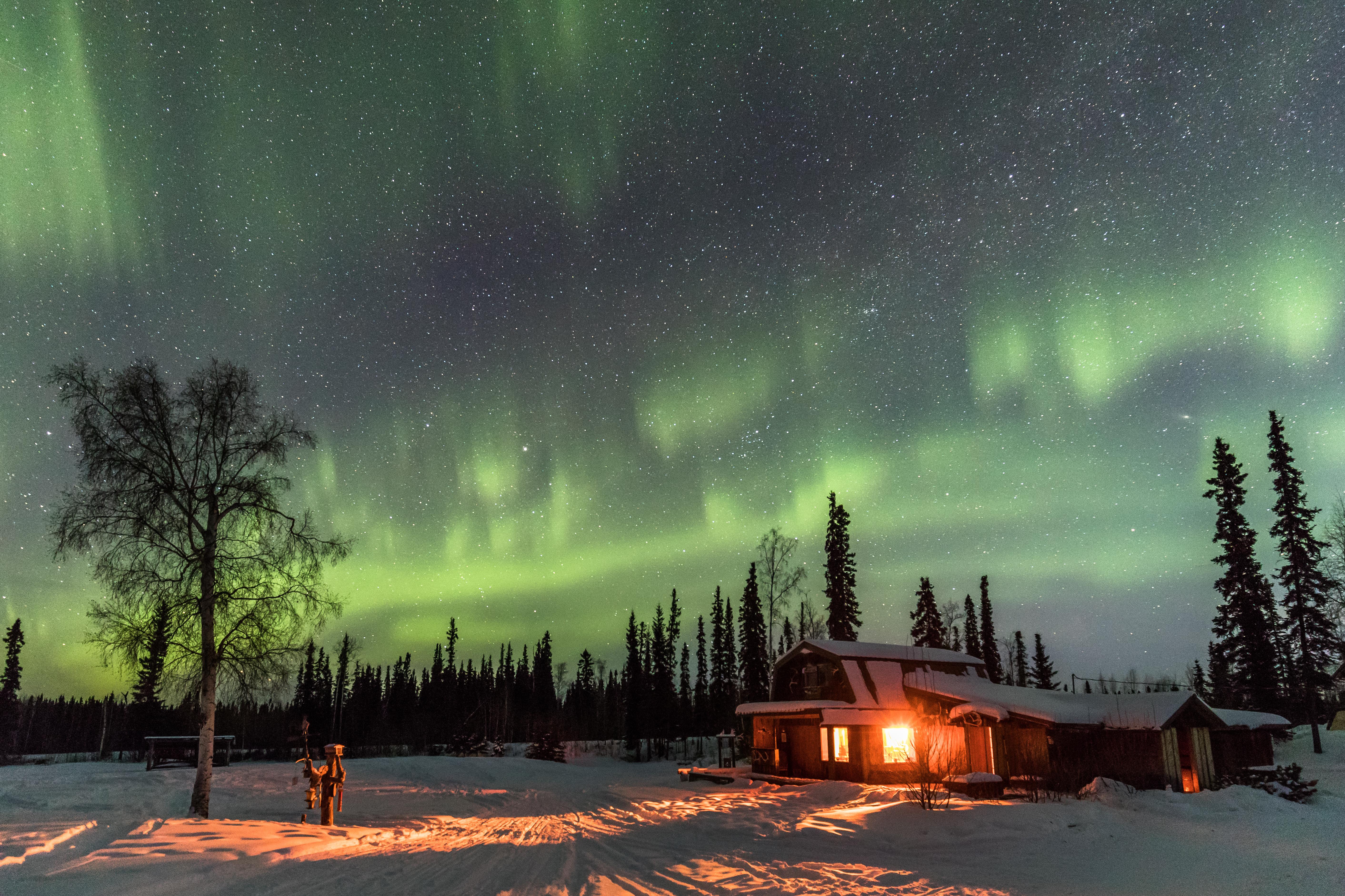Lodge in Alaska