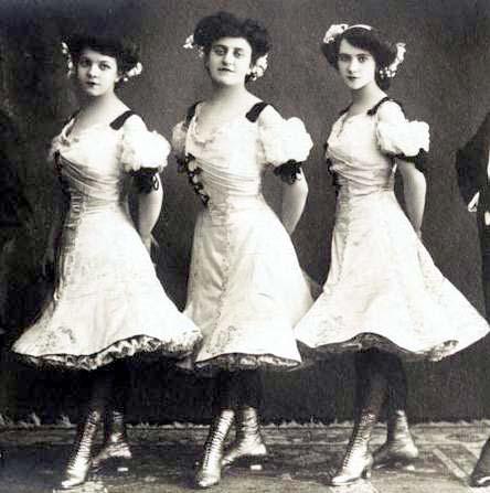 Three Grebnieff sisters