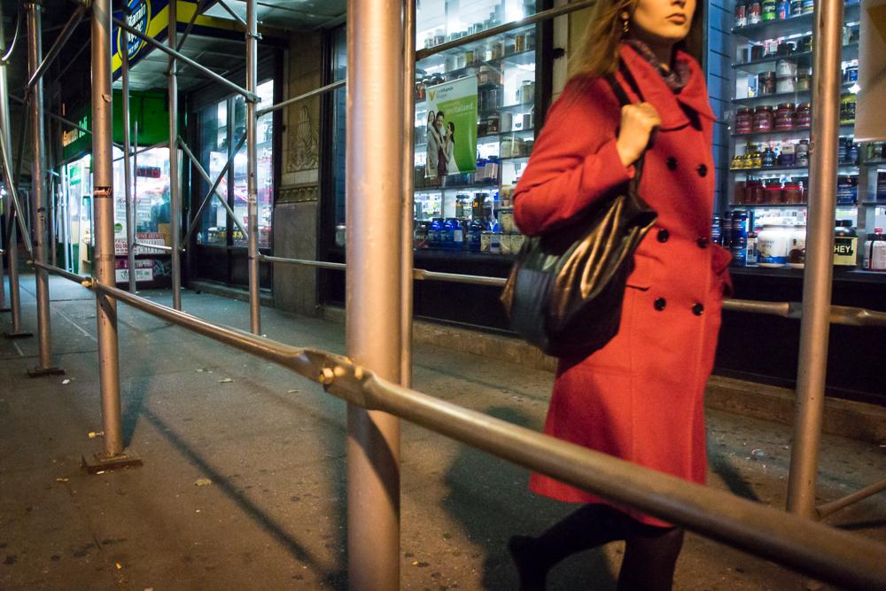 Red Coat Night