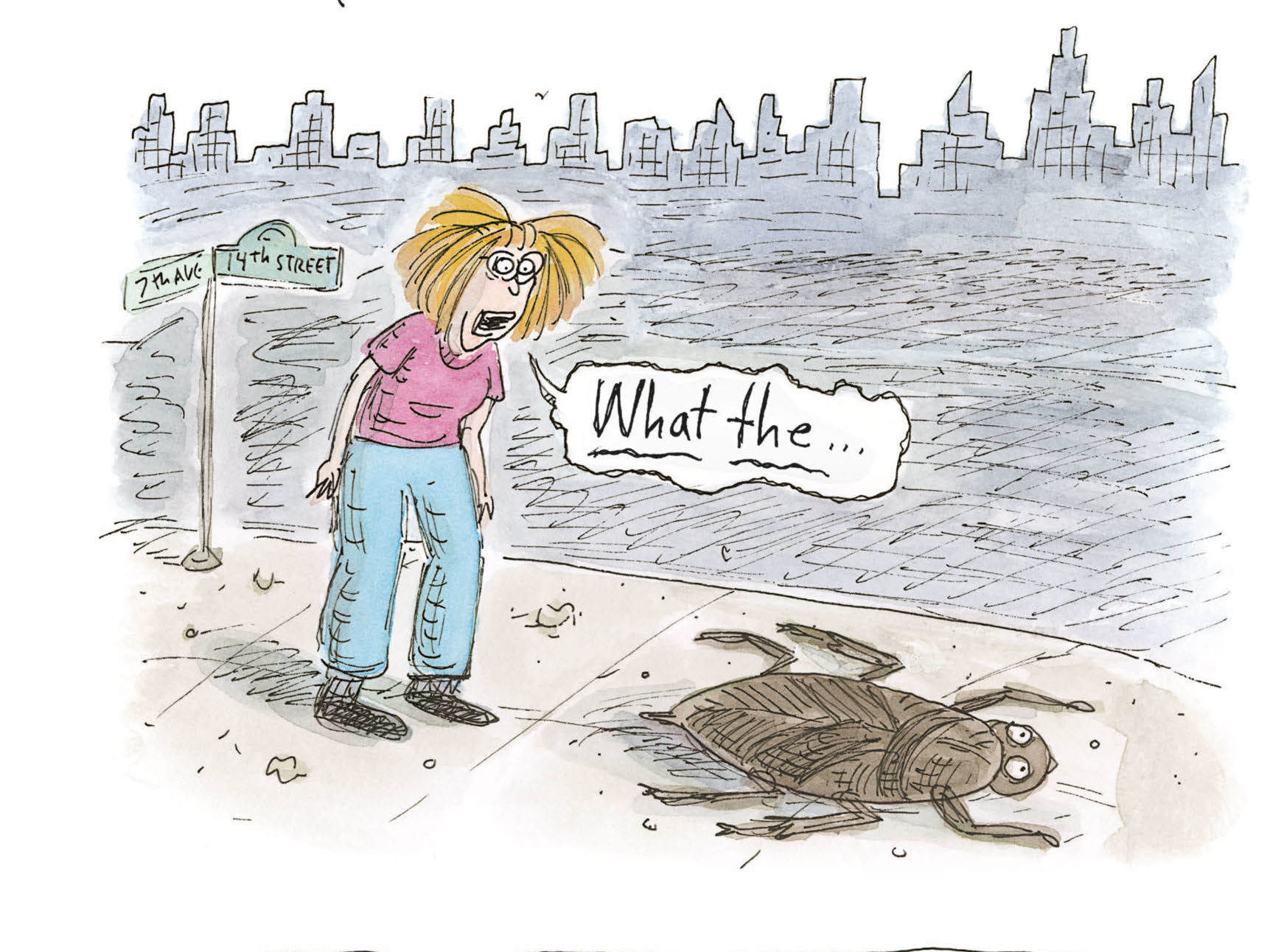 New York City waterbug