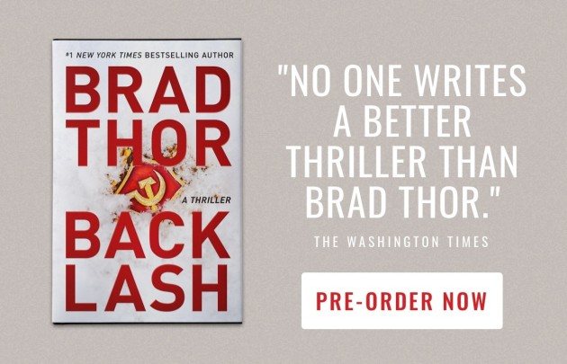 Brad Thor BACKLASH pre-order