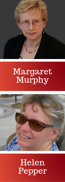 Margaret Murphy and Helen Pepper
